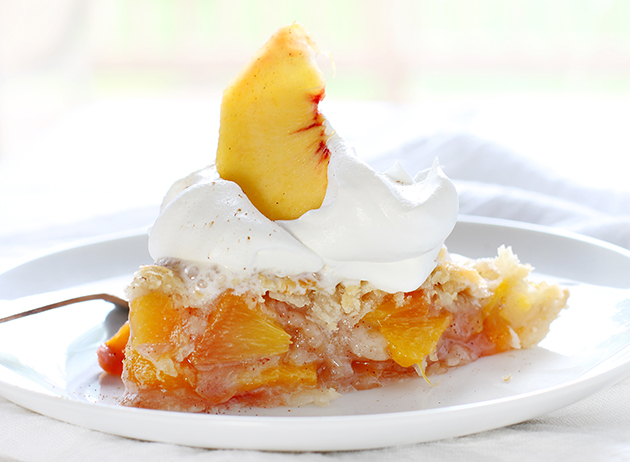 Grilled Peach Pie