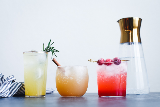 Sparkling Holiday Mocktails Recipe