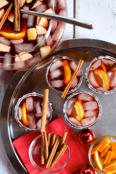 Spiced Red Beet Sangria Recipe