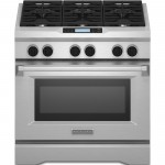 KitchenAid® Commercial-Style Dual Fuel Range