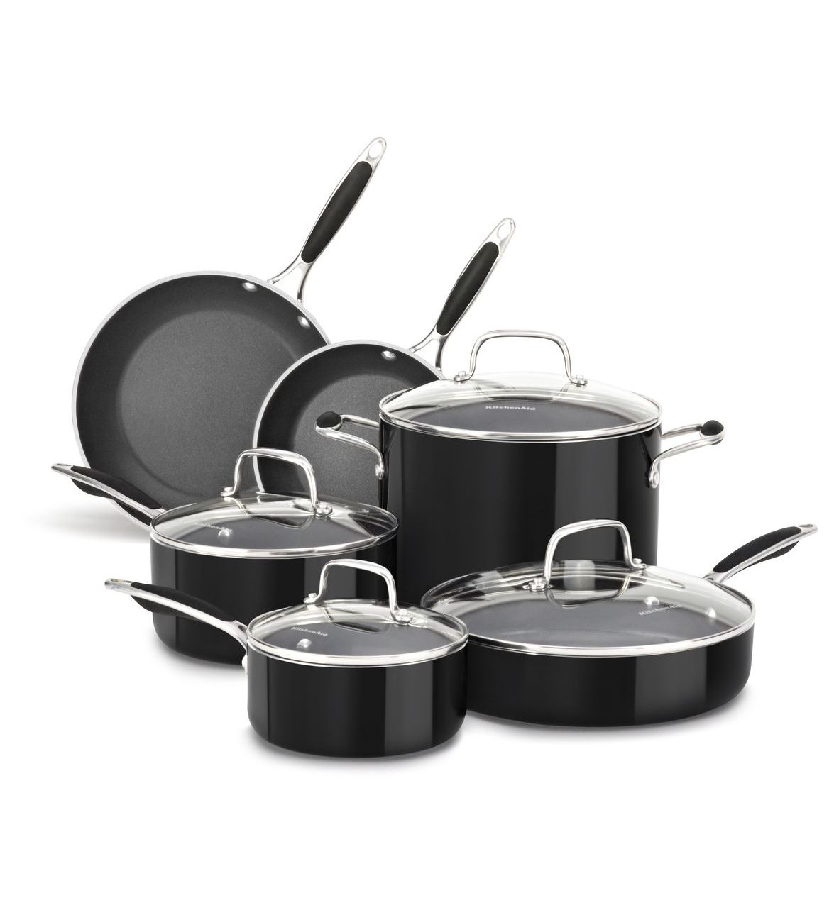 KitchenAid® Aluminum Nonstick 10-Piece Set
