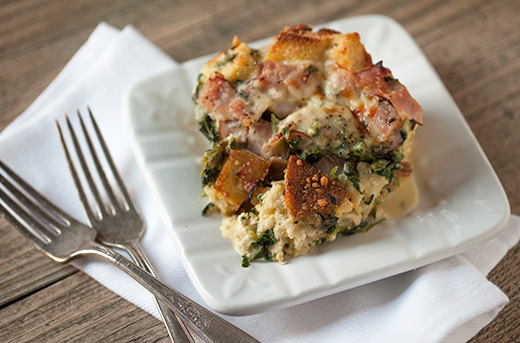 Holiday Brunch Strata Recipe