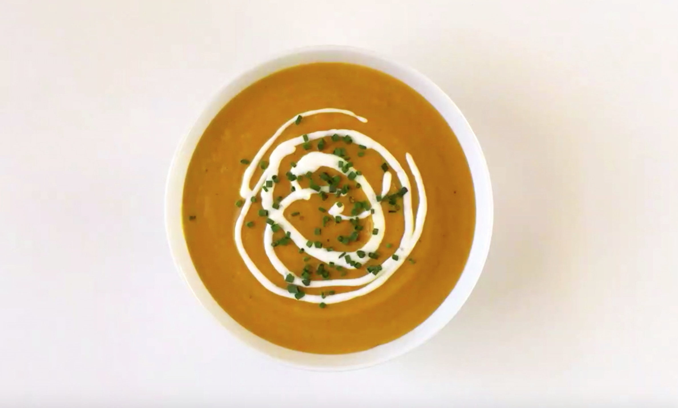 Taste of KitchenAid Creamy Pumpkin Soup Thanksgiving