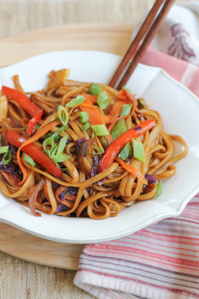Vegetable Lo Mein Recipe