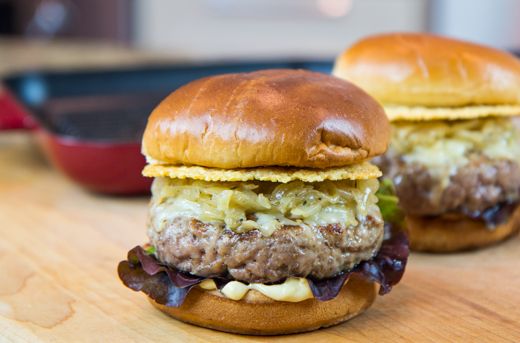 Veal French Onion Burger