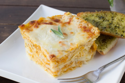 Brown Butter Butternut Squash Lasagna Recipe