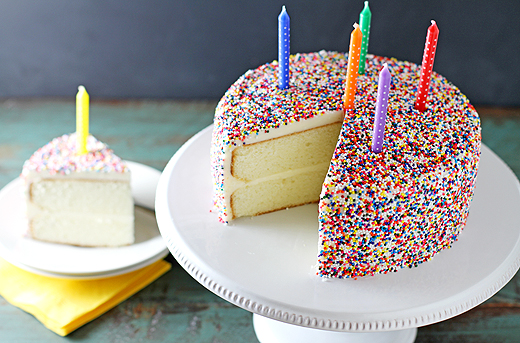 Vanilla Bean Birthday Cake Recipe