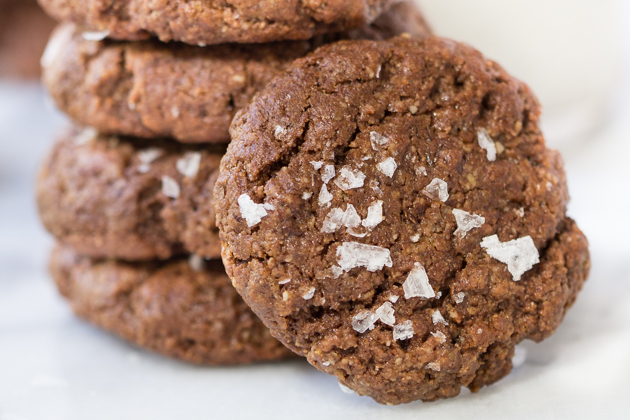 Chocolate Tahini Cookies Recipe
