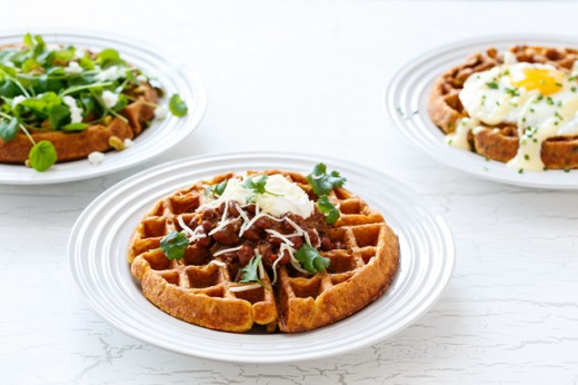 recipe: cornmeal waffles egg whites [33]