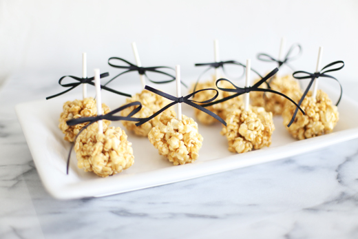 All Natural Caramel Corn Appetizers
