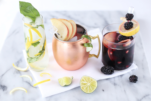 Fall Cocktails and Garnishes