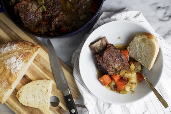 Beer Braised Short Ribs and Root Vegetables Recipe