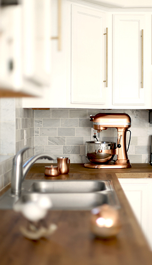 incorporating countertop appliances into your kitchen décor the