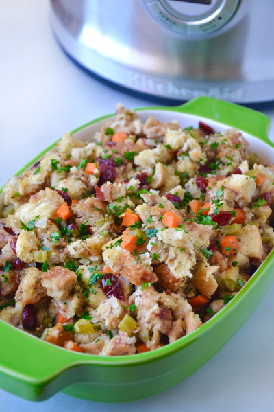 Multi-Cooker Thanksgiving Stuffing
