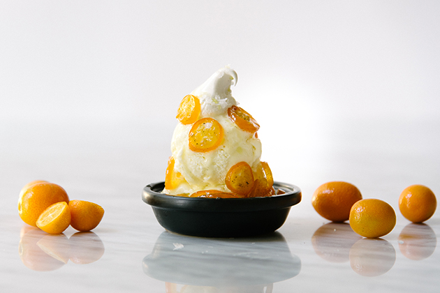 Olive Oil Ice Cream Sundaes