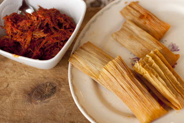 red chile pork tamales (2)