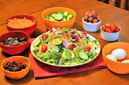 Winter Salad Bar Recipes