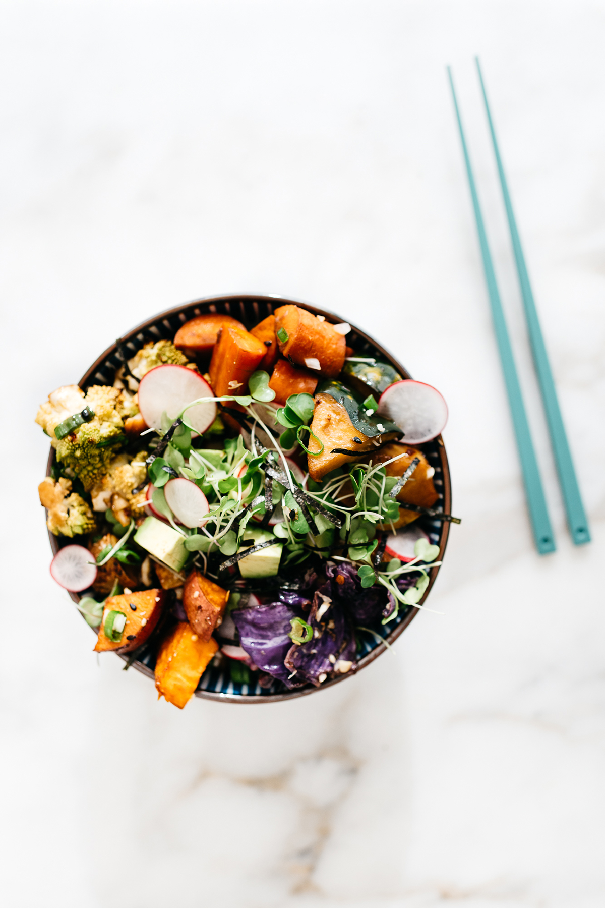 Roasted Winter Vegetable Bowl